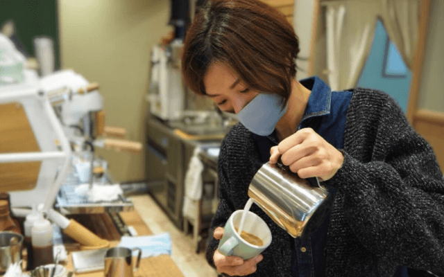 tsmikicoffeeの田中さん
