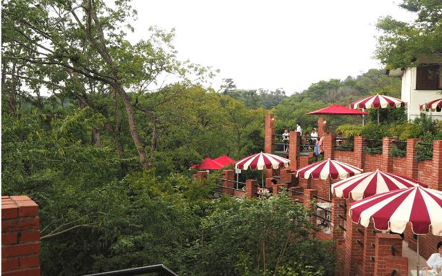 樹ガーデンのテラス席