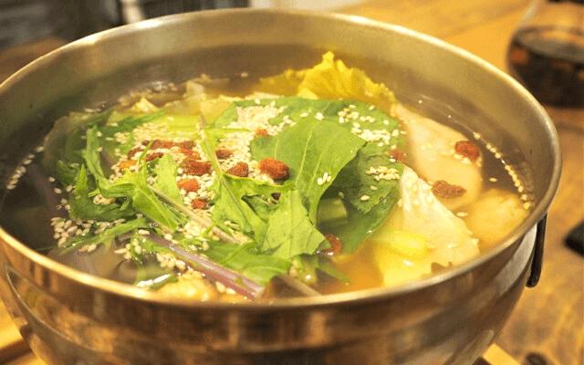 素食renの薬膳スープ